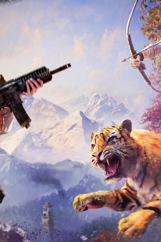 640x960 Far Cry 4 Iphone 4 Wallpaper