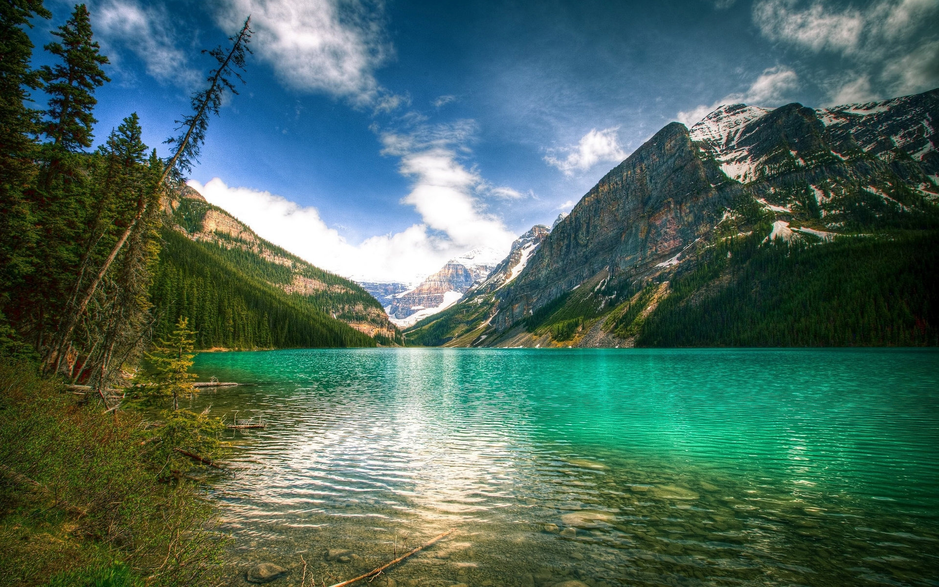 Image: Fascinating Lake Louise Canada wallpapers and stock photos. «