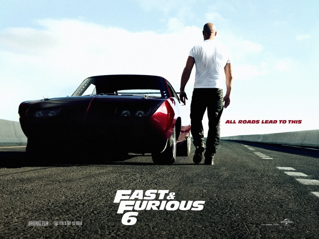1024x768 Fast u0026 Furious 6 Movie Poster desktop PC and Mac ...