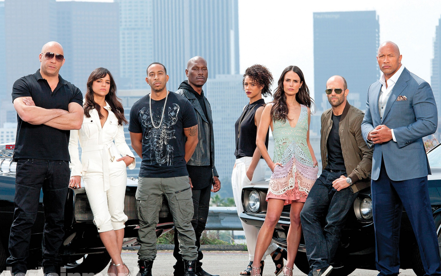 1680x1050 Fast And Furious 7 Cast Desktop PC Mac Wallpaper
