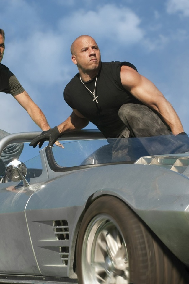 640x960 Fast Five Fast And The Furious Paul Walker Vin
