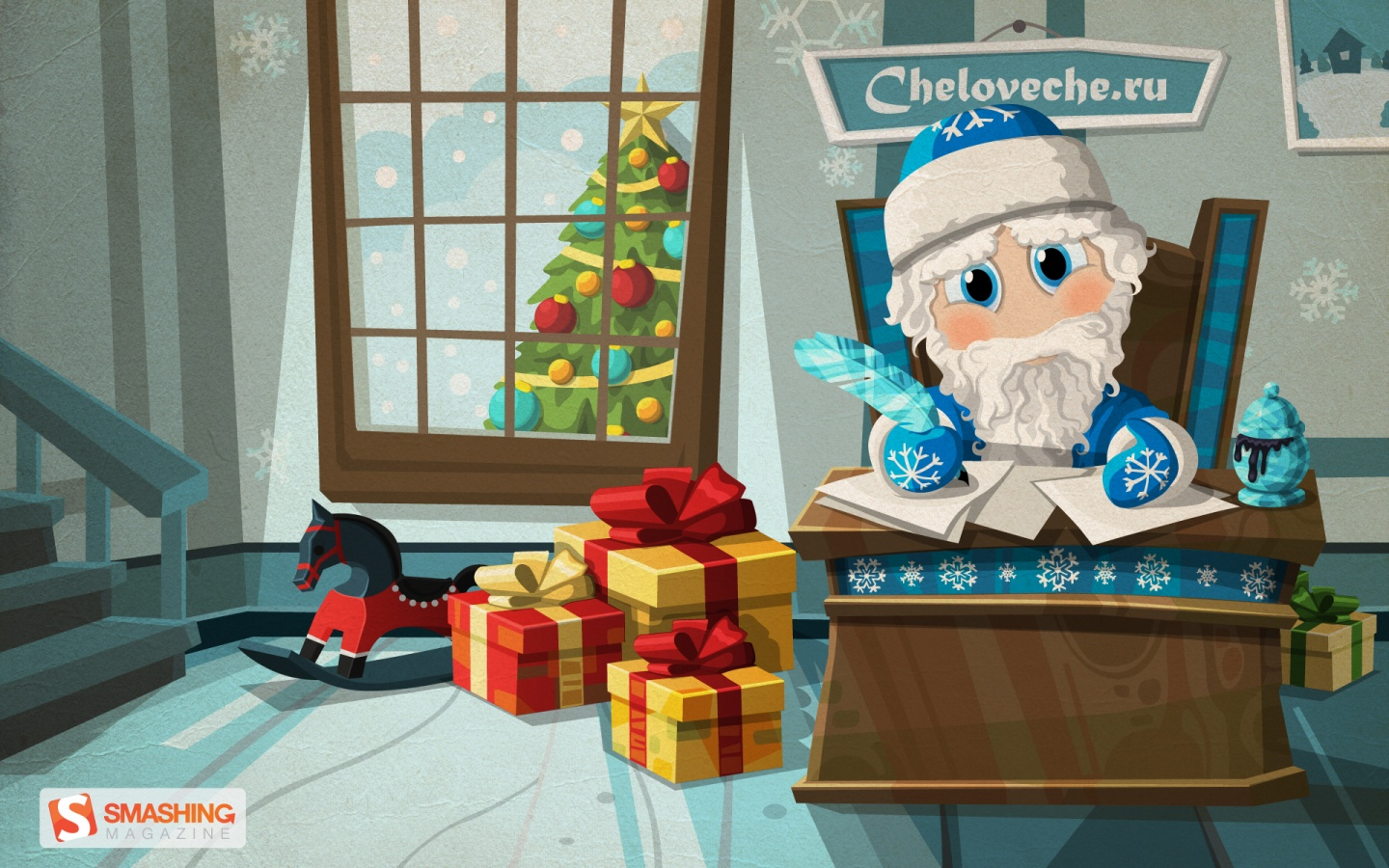 1440x900 Father Frost
