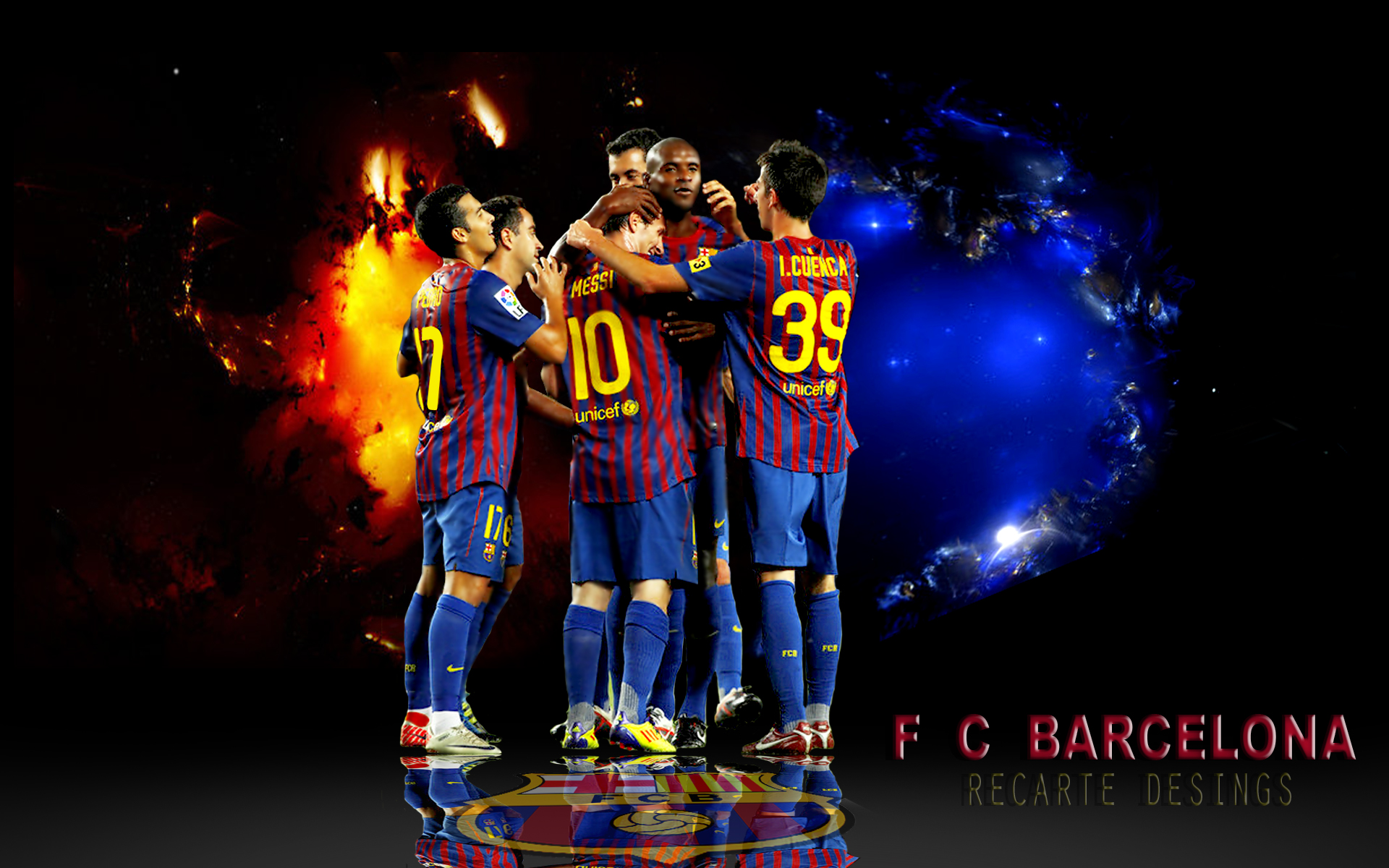 Fc Barcelona Wallpaper 2010