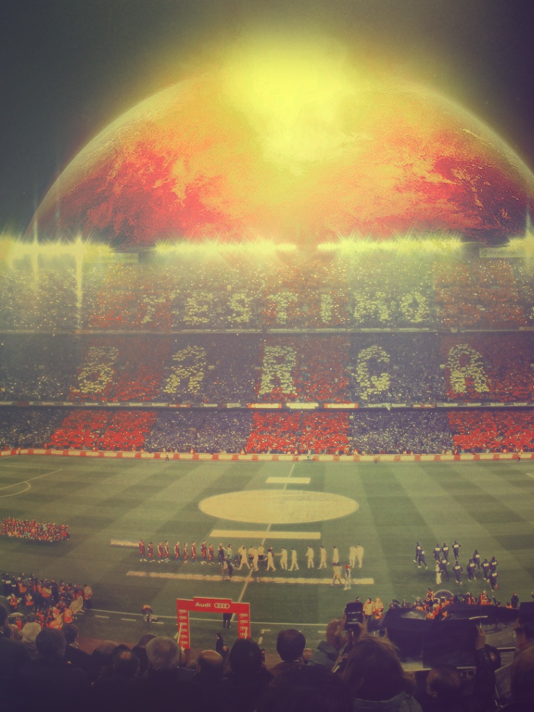 768x1024 Fc Barcelona Camp Nou Ipad Mini Wallpaper