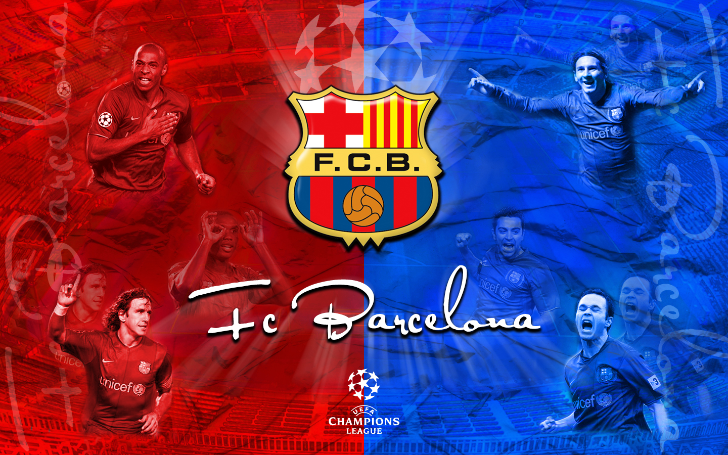 1440x900 Fc Barcelona desktop wallpapers and stock photos