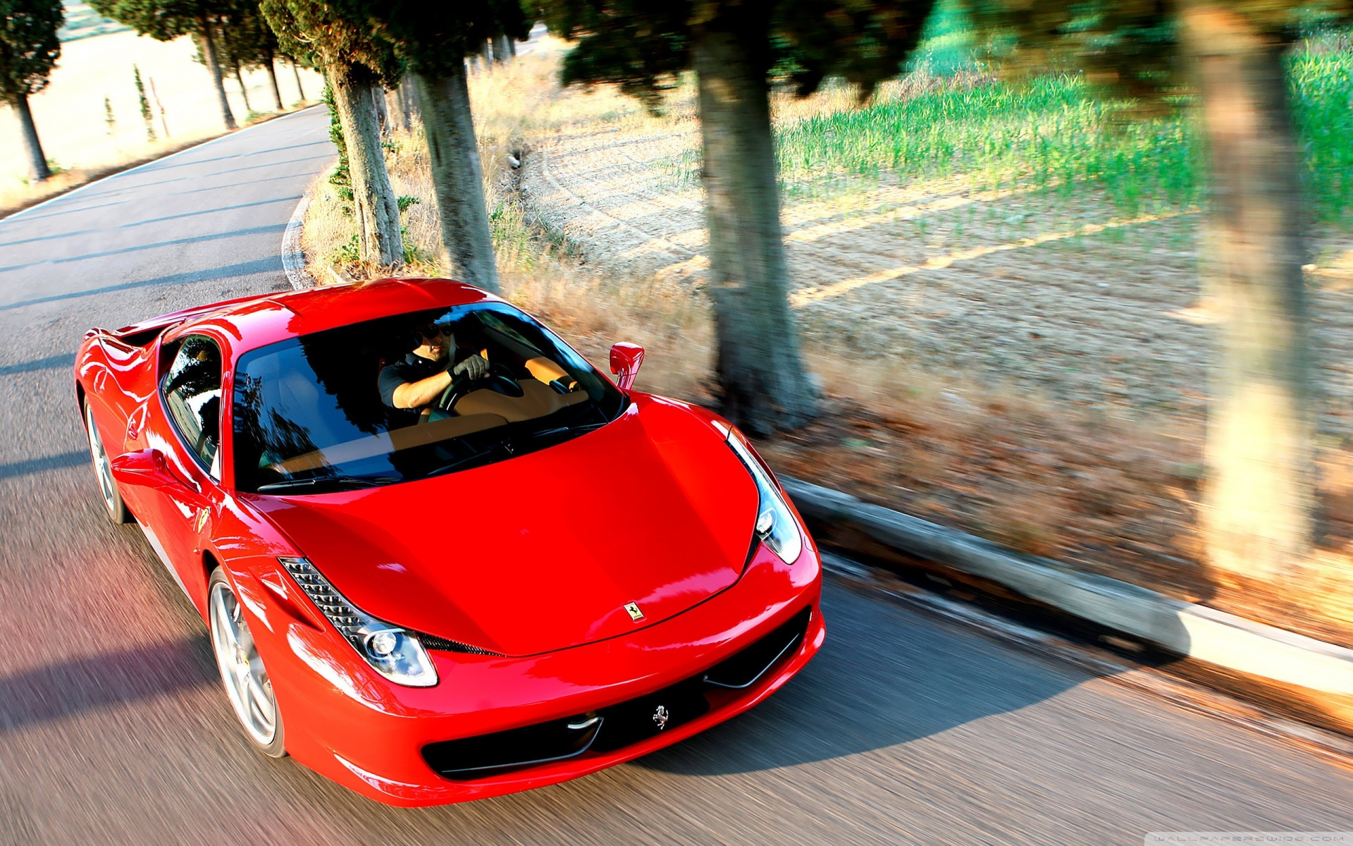 200 ferrari 458 countryside desktop pc and mac wallpaper高清图片
