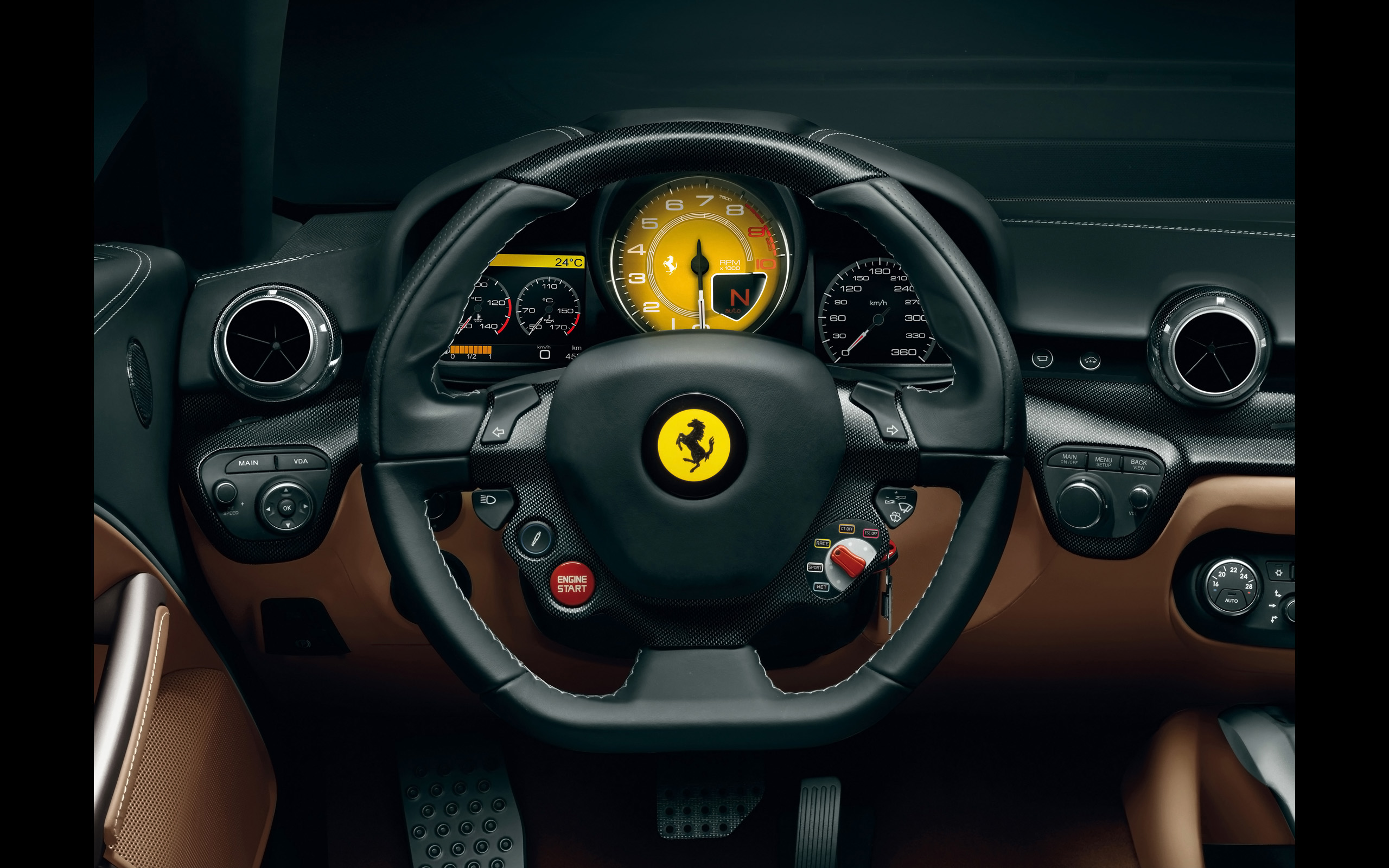 Ferrari f12 berlinetta interior fondos de pantalla for Interieur iphone x