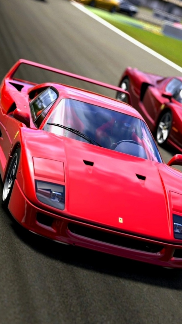 640x1136 Ferrari F40 Vehicles Cars Iphone 5 Wallpaper