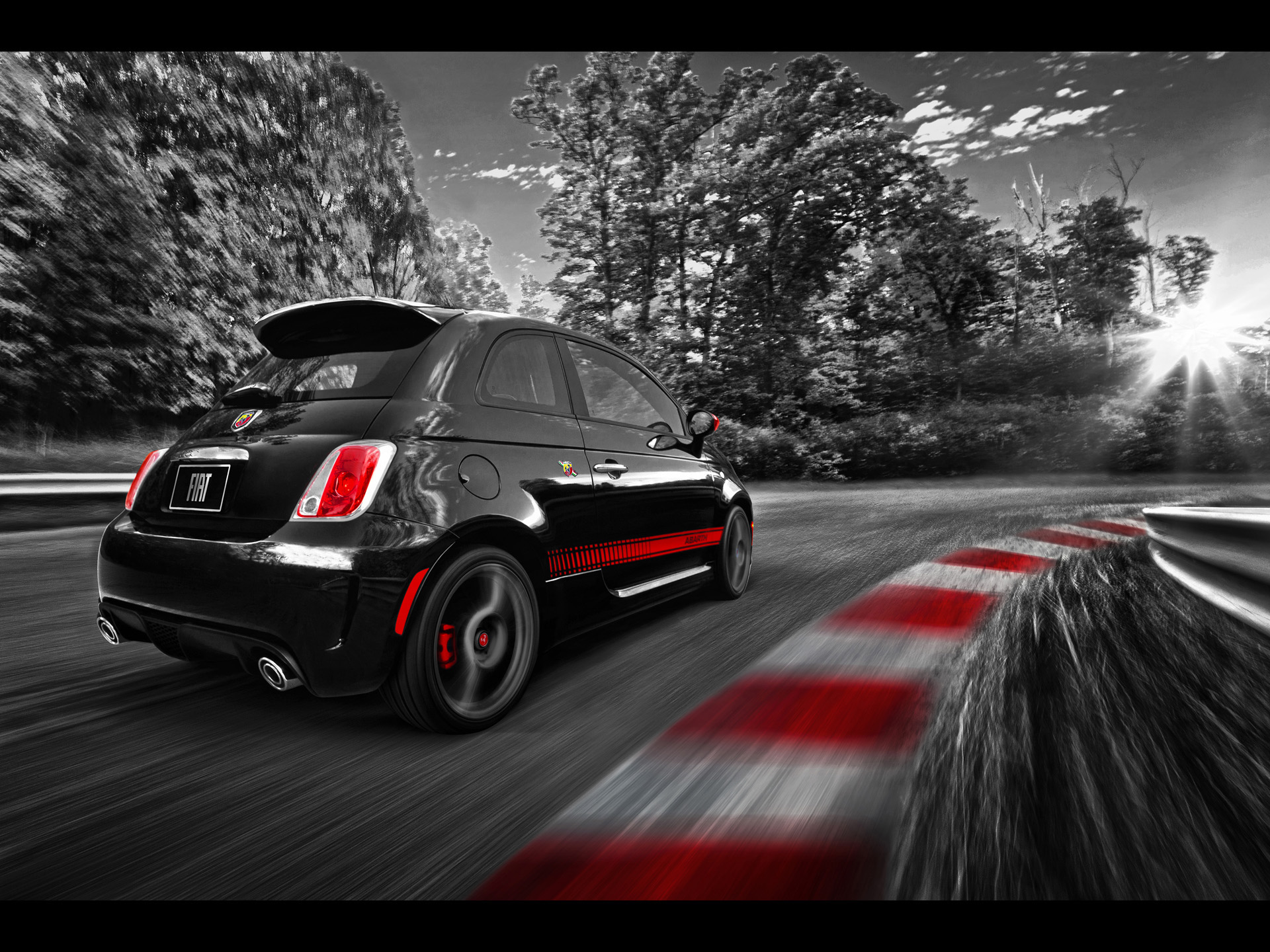 1920x1440 Fiat 500 Abarth Race Track Desktop Pc And Mac