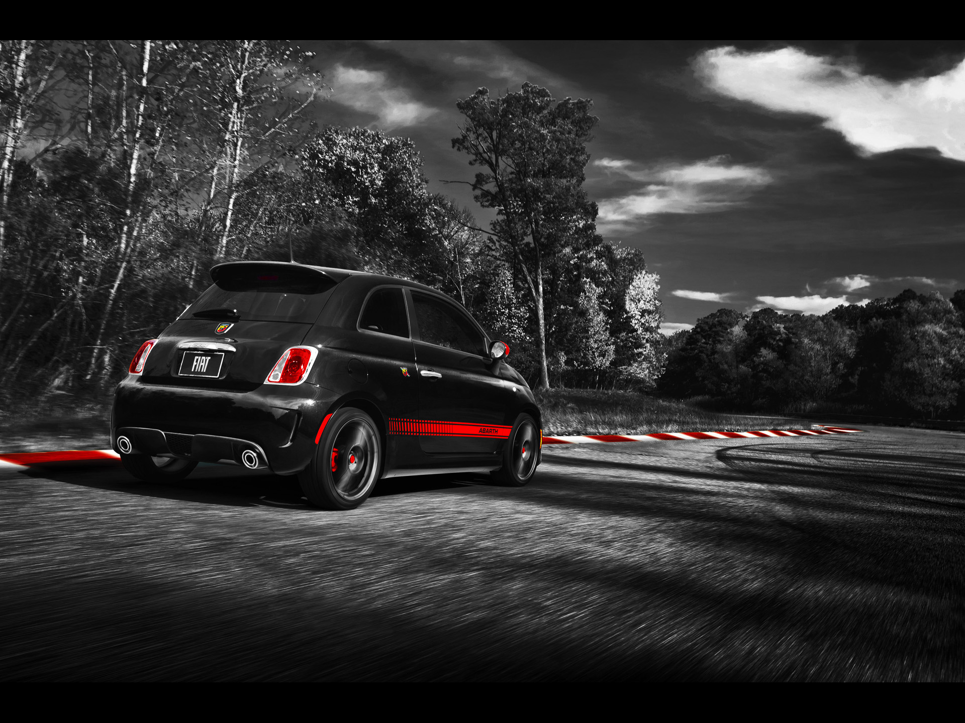 fiat 500 abarth spur hintergrundbilder fiat 500 abarth spur frei fotos. Black Bedroom Furniture Sets. Home Design Ideas