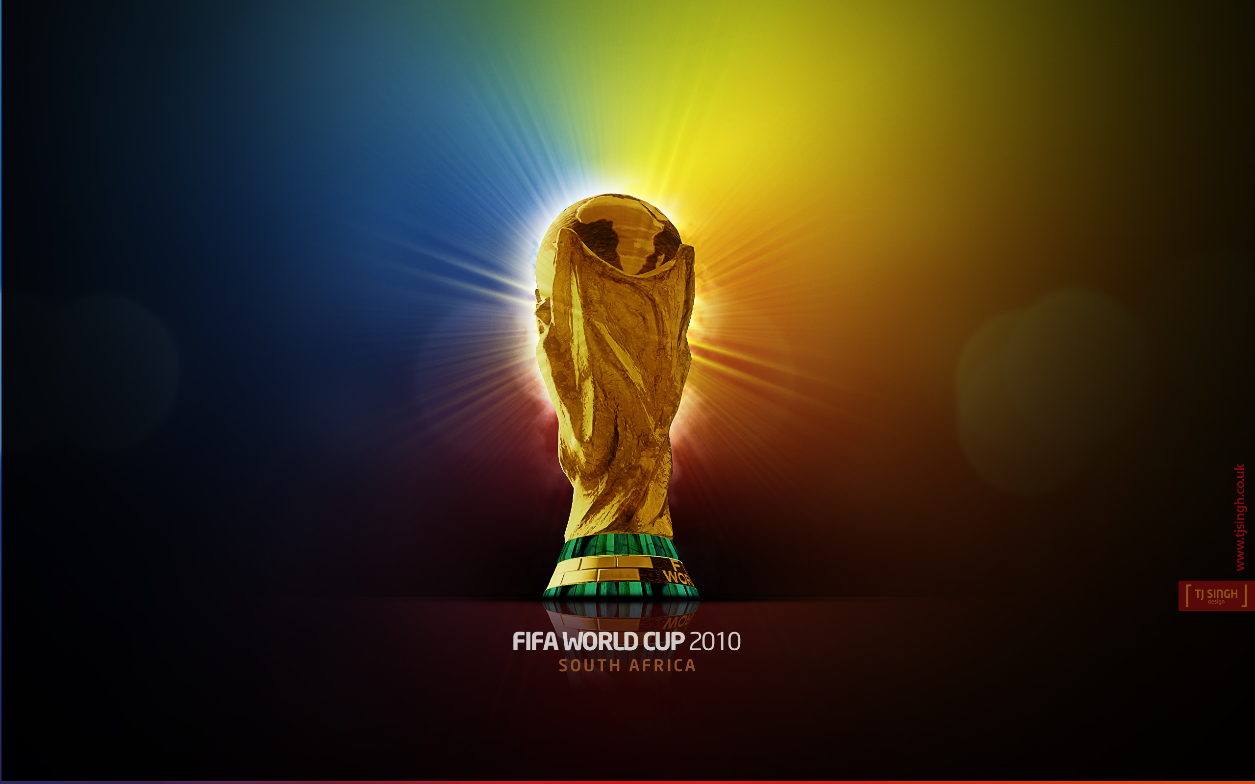 2560x1600 Fifa World Cup 2010 trophy desktop PC and Mac wallpaper
