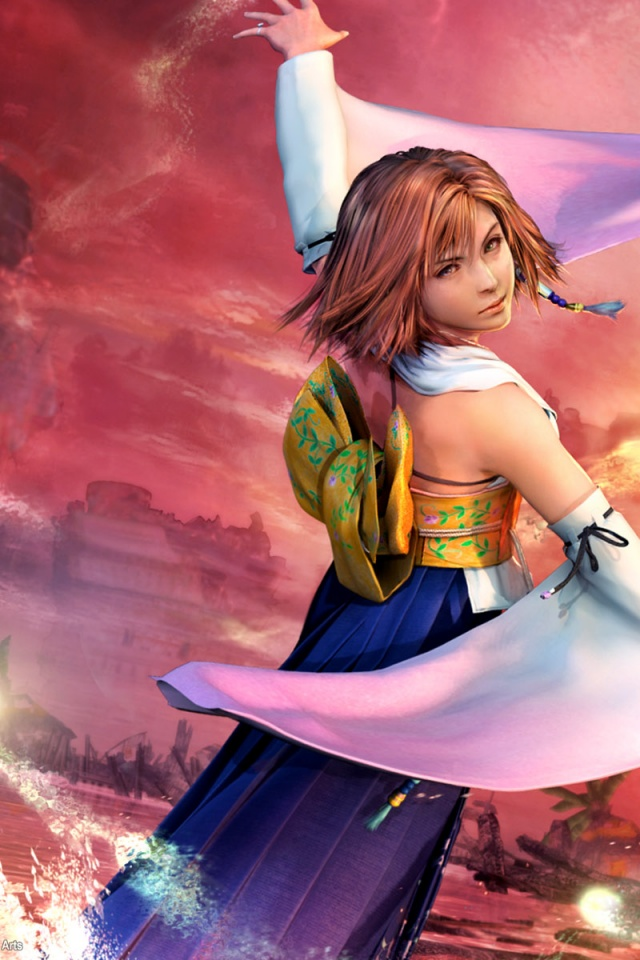 640x960 final fantasy x iphone 4 wallpaper
