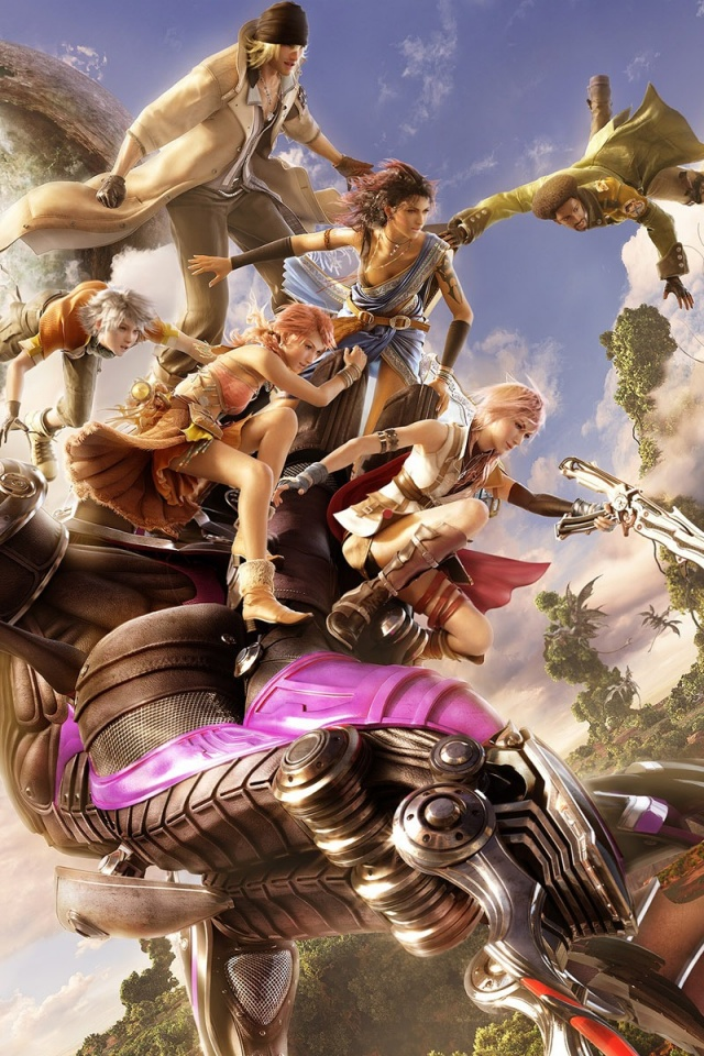 640x960 final fantasy xiii iphone 4 wallpaper - I phone fantasy wallpapers ...