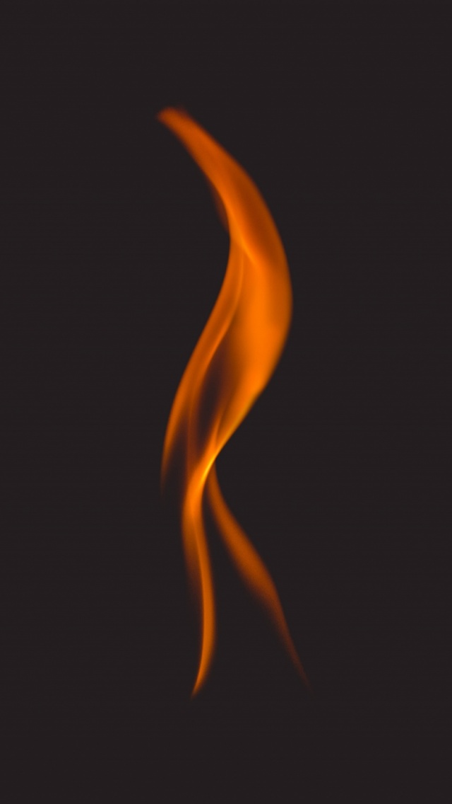 640x1136 Fire Flame Dark Background Iphone 5 Wallpaper