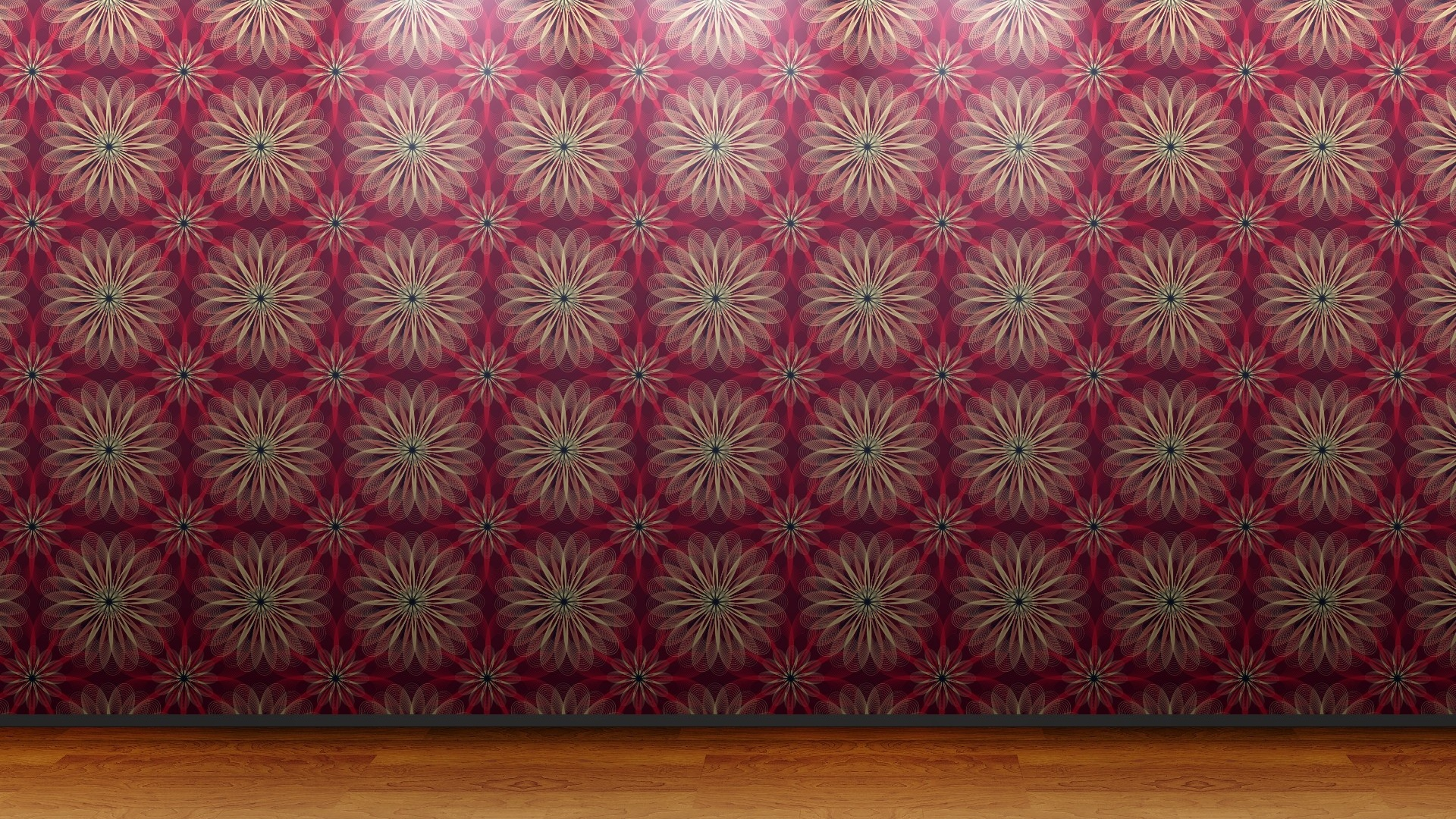 1920x1080 floral wall pattern desktop pc and mac wallpaper