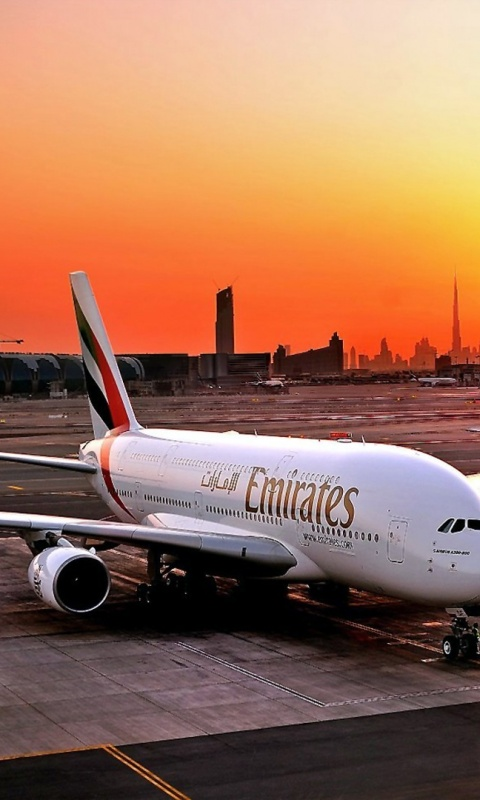 480x800 fly emirates airbus a380 800 galaxy s2 wallpaper for Home wallpaper uae