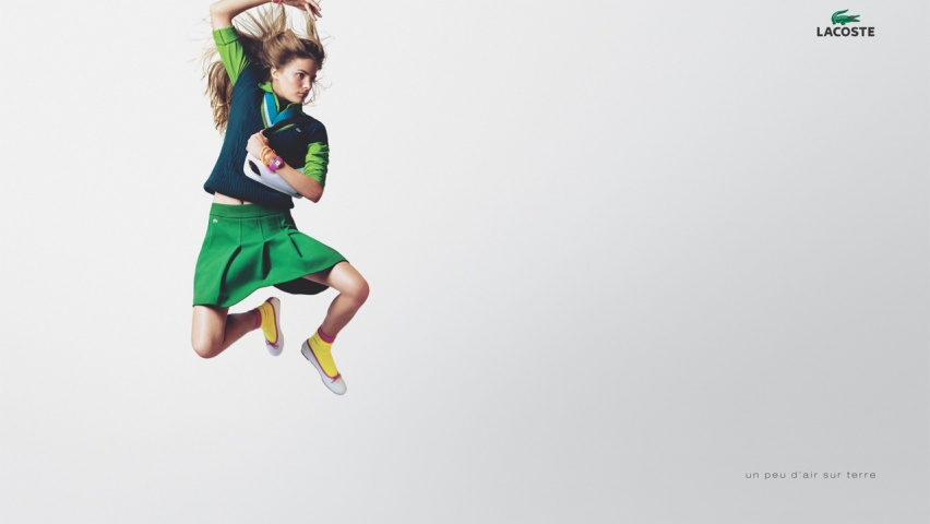18dd95bd81678 825x315 Fly woman LACOSTE Facebook Cover Photo