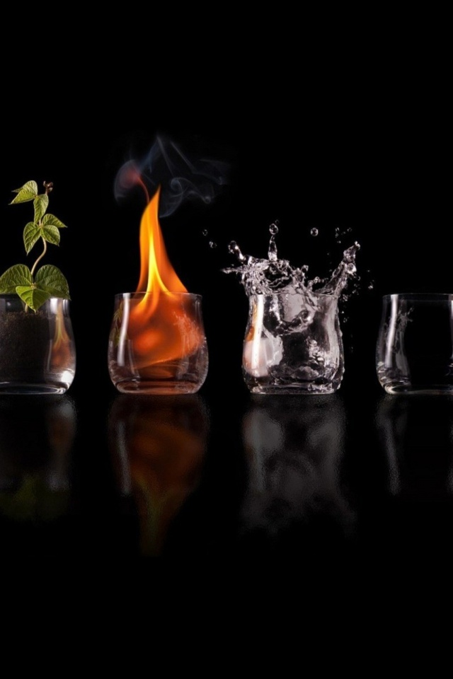 640x960 Four Elements Glasses