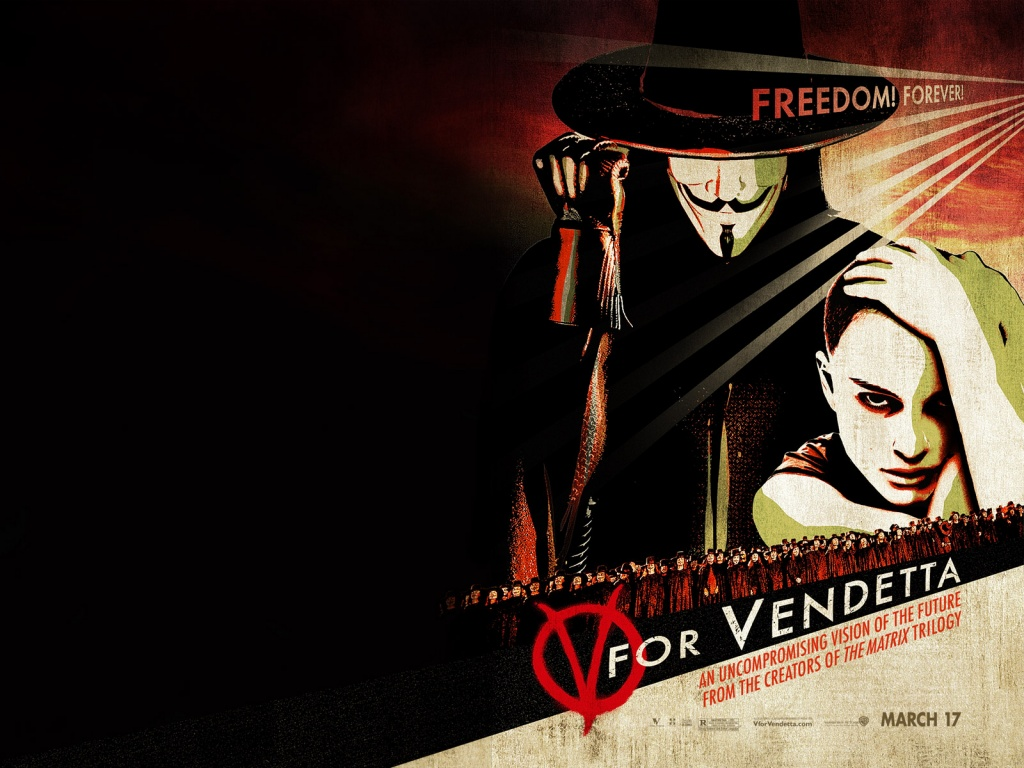 Natalie Portman V for Vendetta