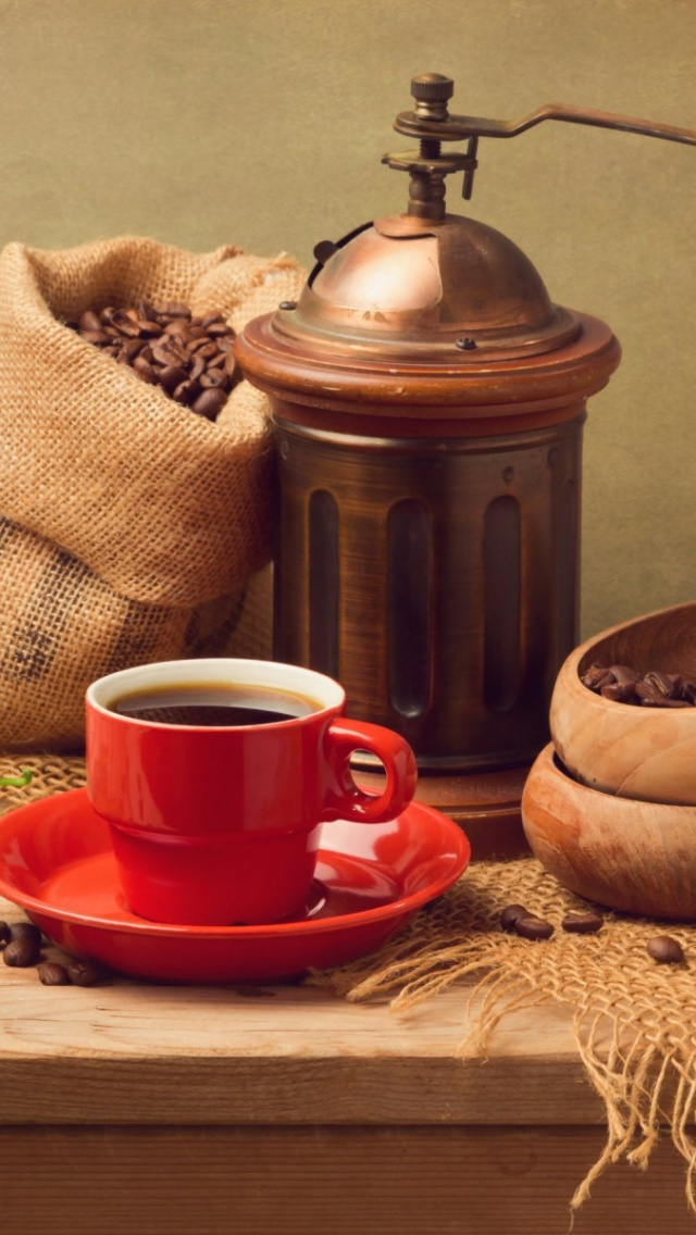 640x1136 Fresh Coffee