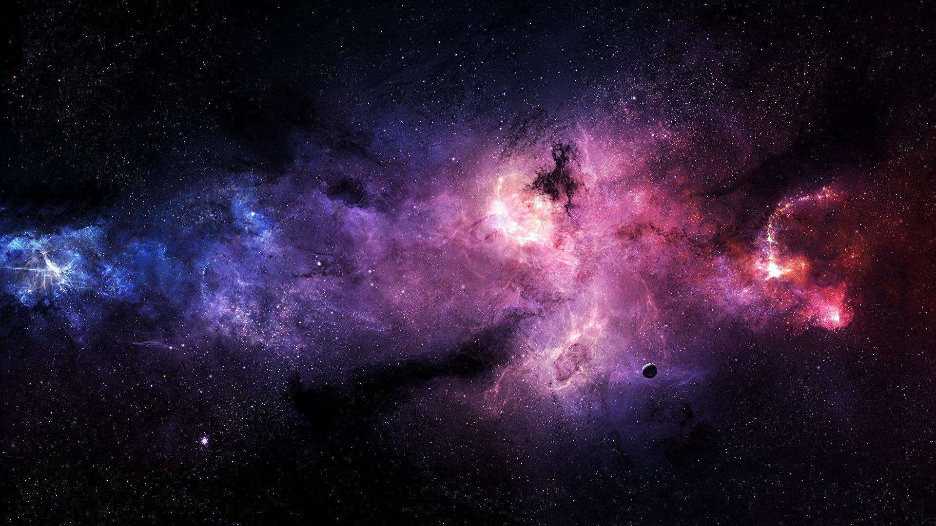 1920x1080 Galaxy Stars Desktop Pc And Mac Wallpaper