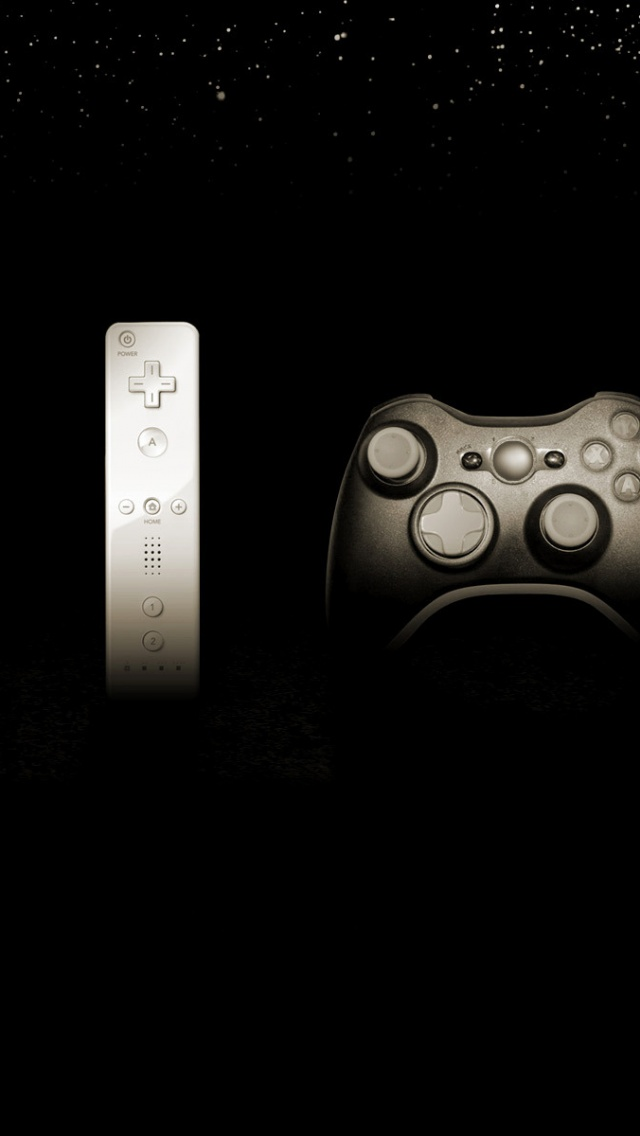 640x1136 Game Controllers Playstation Wii Nintendo Xbox