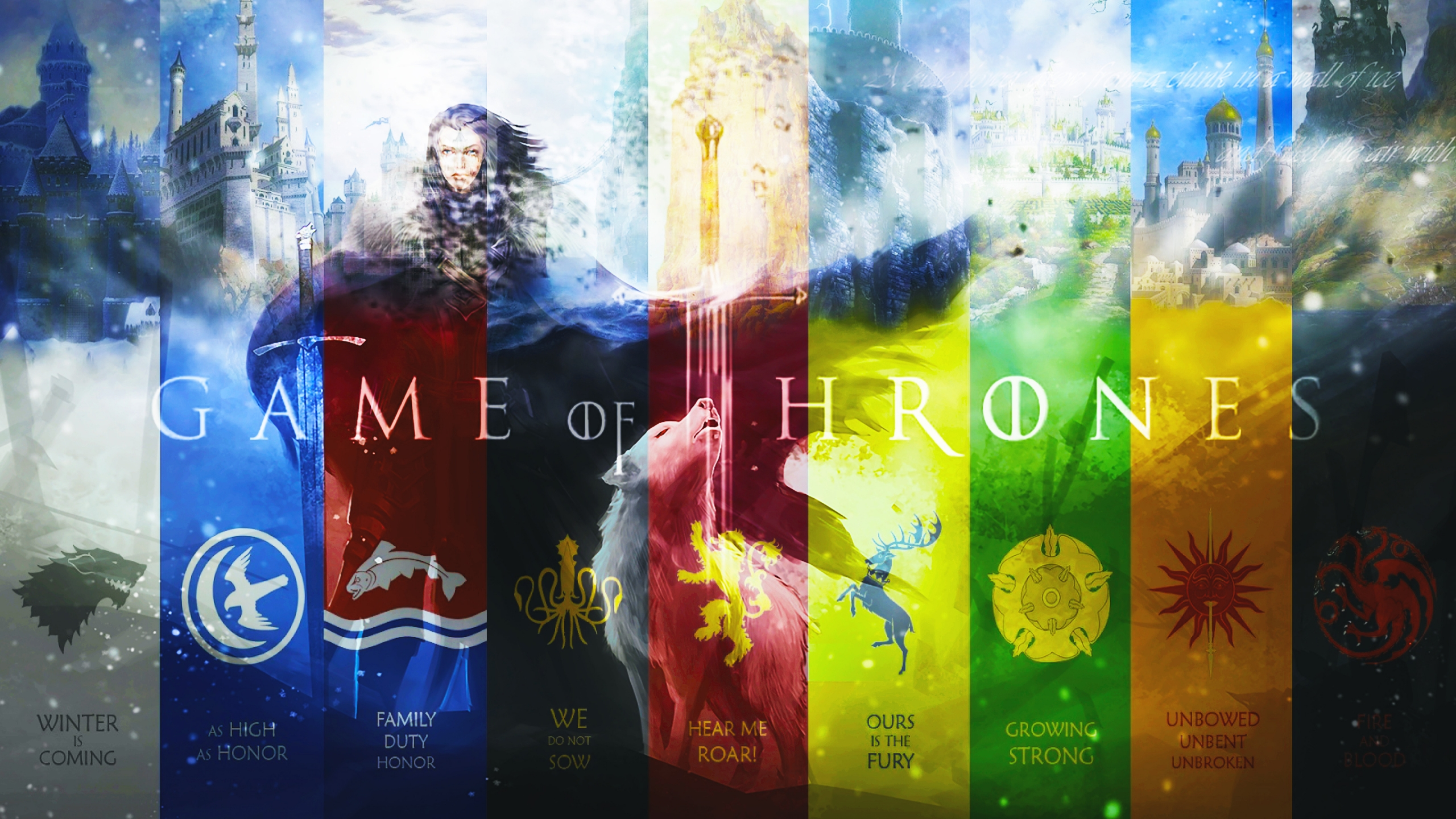 2560x1440 Game of Thrones Art