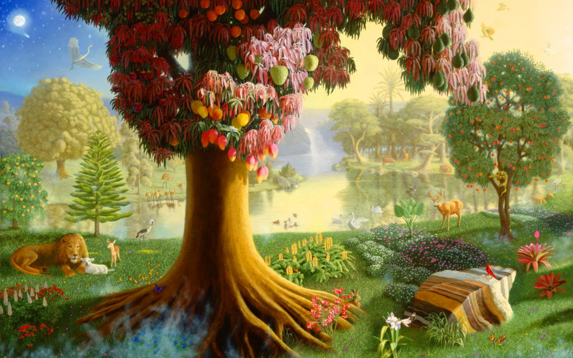 Garden Of Eden One Wallpapers Garden Of Eden One Stock Photos