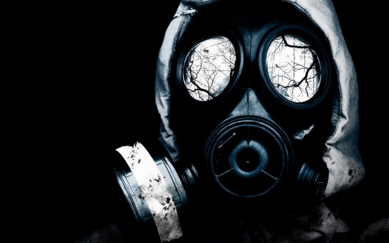 1280x800 Gas Mask Desktop PC And Mac Wallpaper
