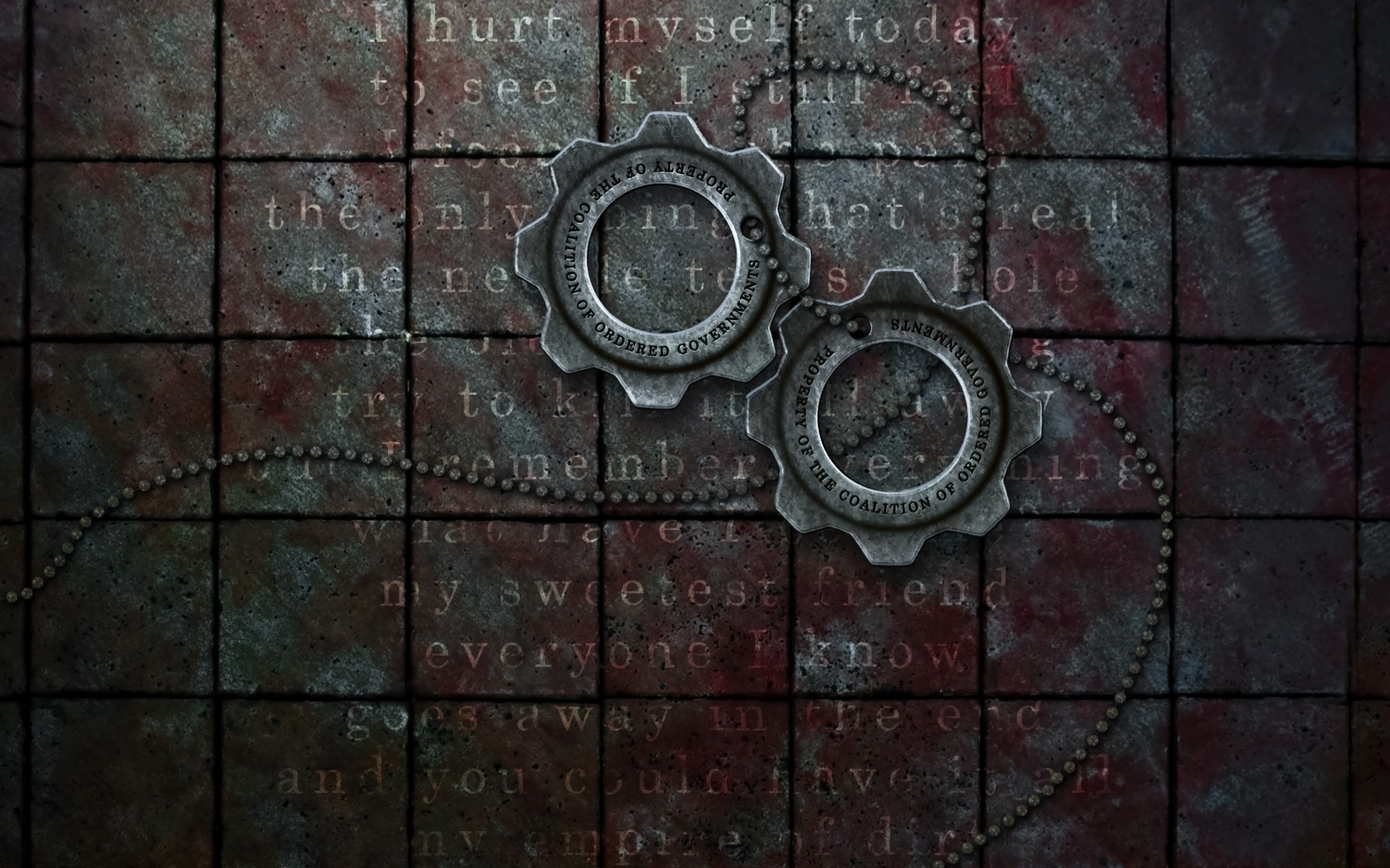 gears of war: cog tags wallpapers | gears of war: cog tags stock photos