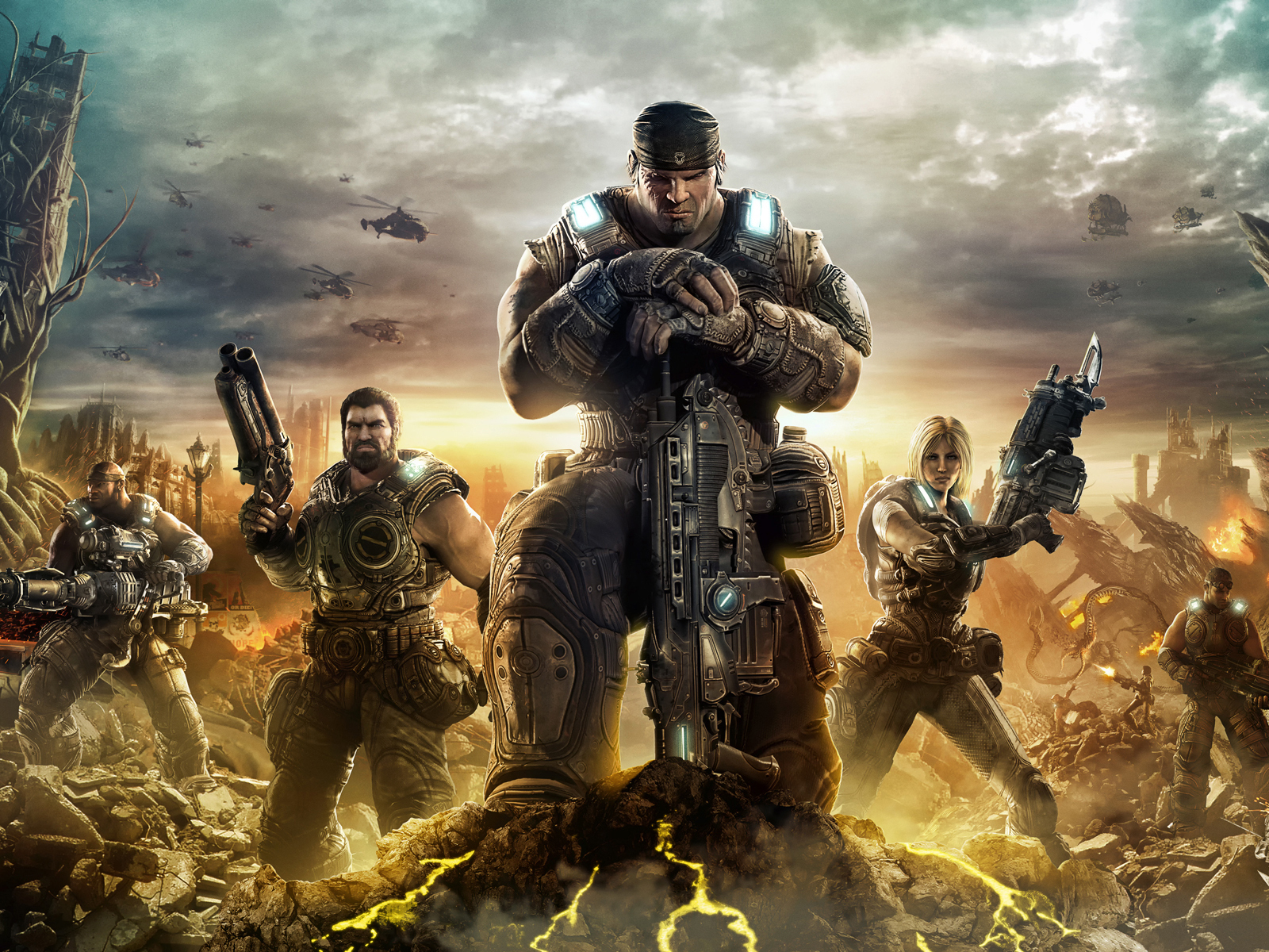 1600x1200 Gears of War 3