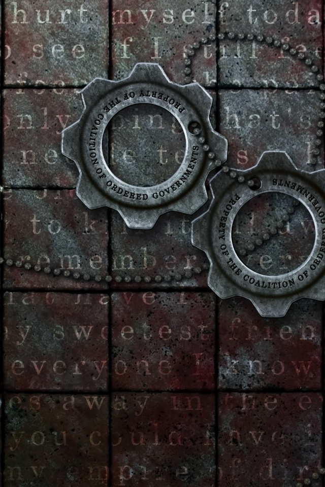 640x960 Gears of War: Cog Tags desktop PC and Mac wallpaper