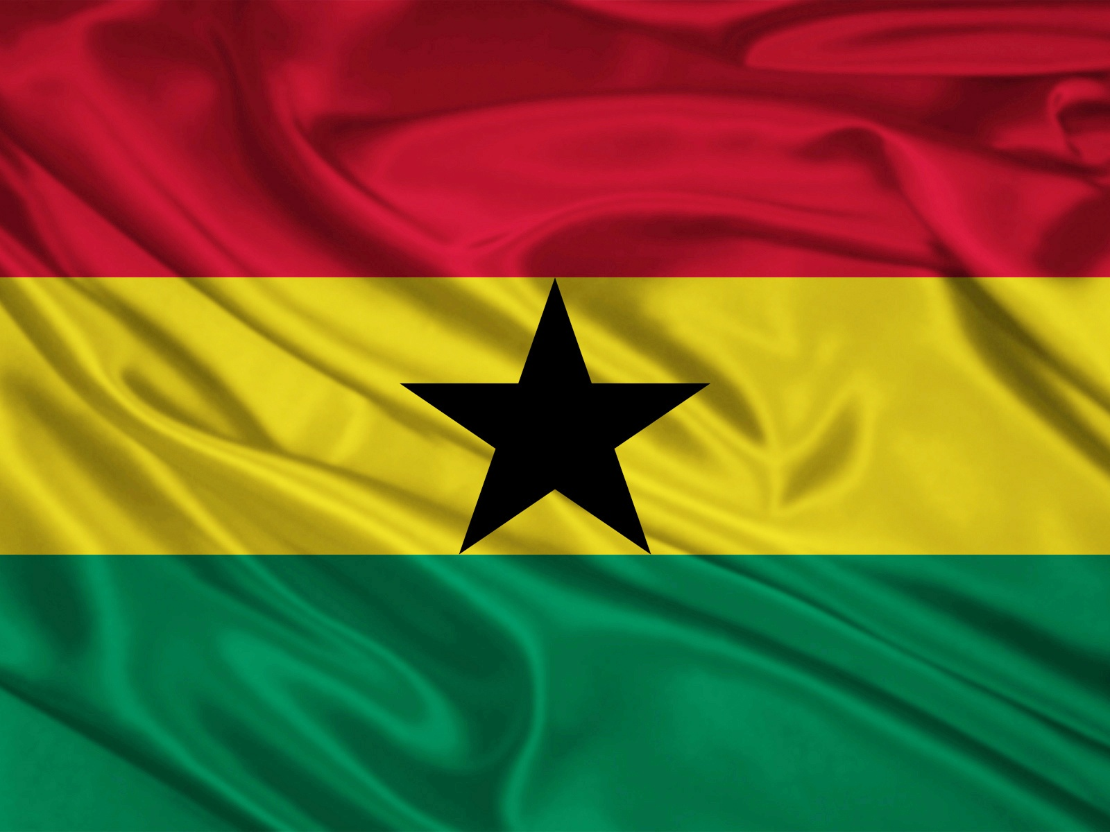 1600x1200 Ghana Flag Desktop PC And Mac Wallpaper