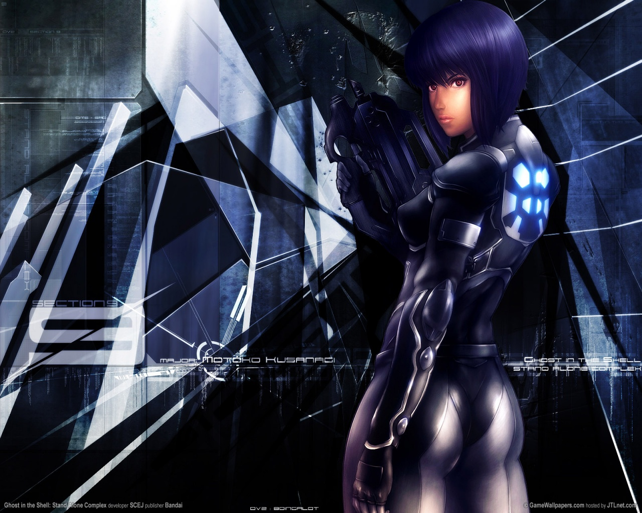 1280x1024 Ghost In The Shell Desktop Pc And Mac Wallpaper