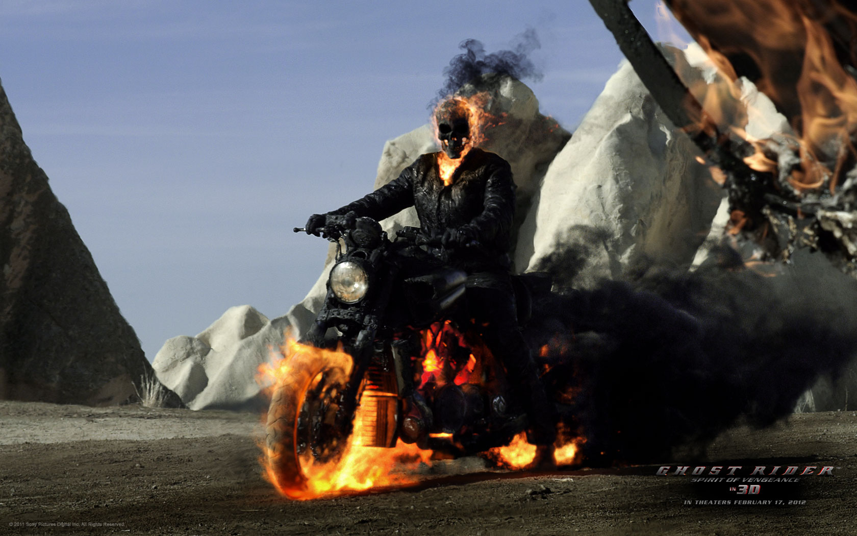 Ghost Rider Spirit of Vengeance Movie Poster wallpapers ...