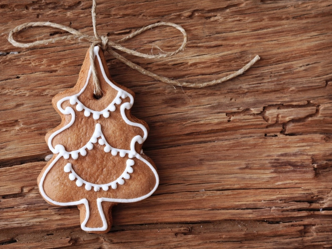 1152x864 gingerbread christmas tree ornament desktop pc