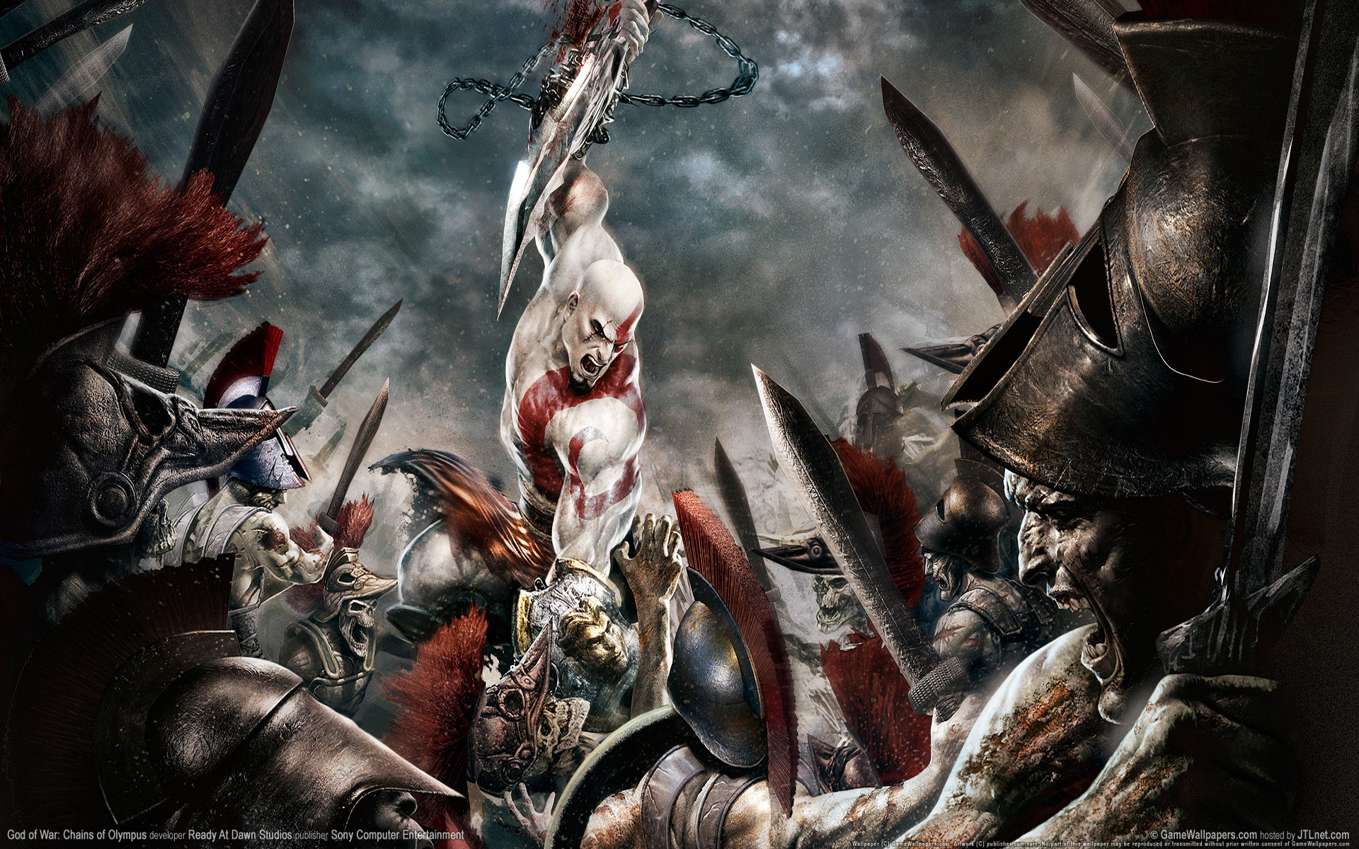 1920x1200 God Of War Chains Of Olympus Desktop Pc And Mac Wallpaper