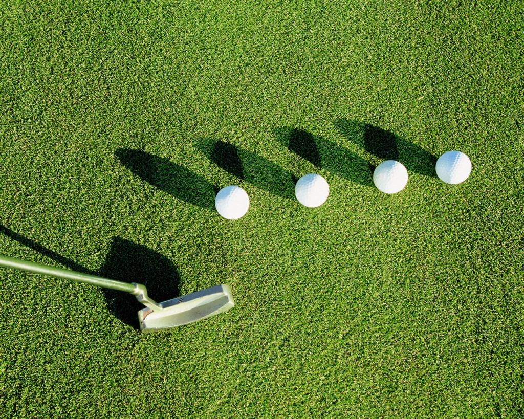 1024x768 Golf balls desktop wallpapers and stock photos