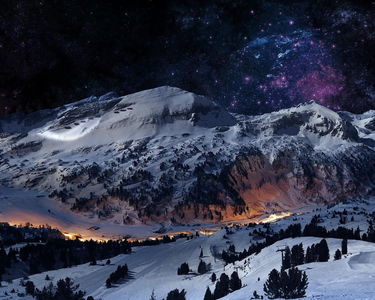 Top Wallpaper Mac Winter - graceful-winter-mountain-night_wallpapers_48473_1280x1024  Perfect Image Reference_30784.jpg