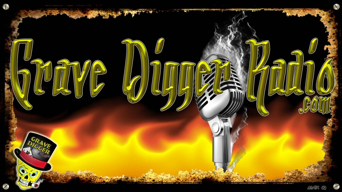 1366x768 Grave Digger Radio ~ Fire Lake