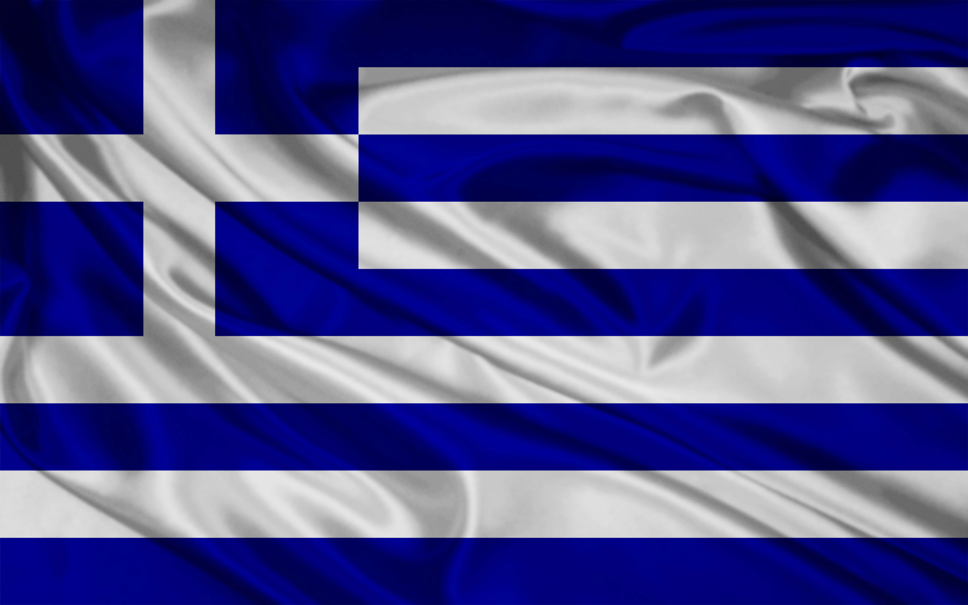 1920x1200 Greece Flag
