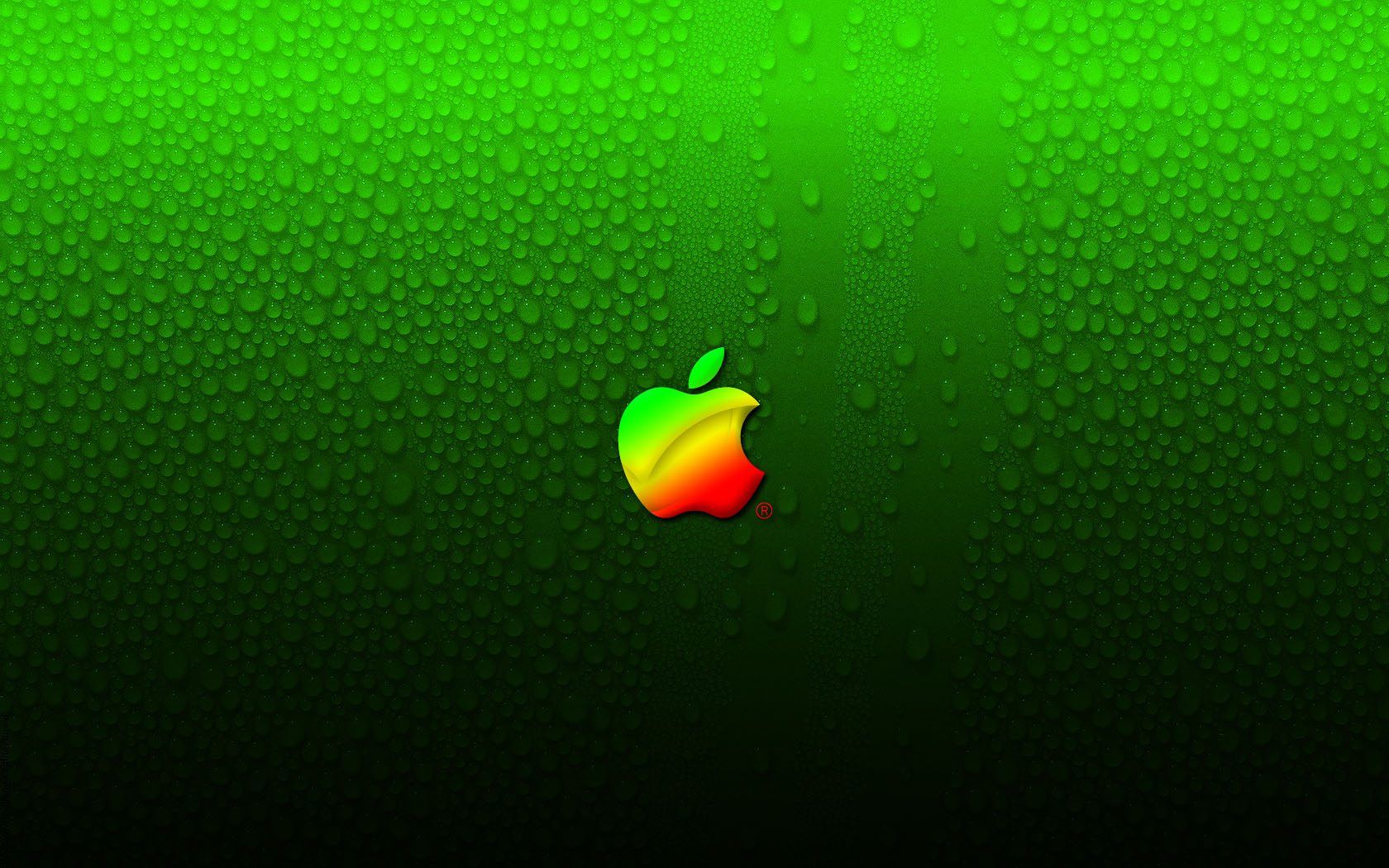 Green Apple Logo Wallpaper - Green Apple Logo Wallpaper By A