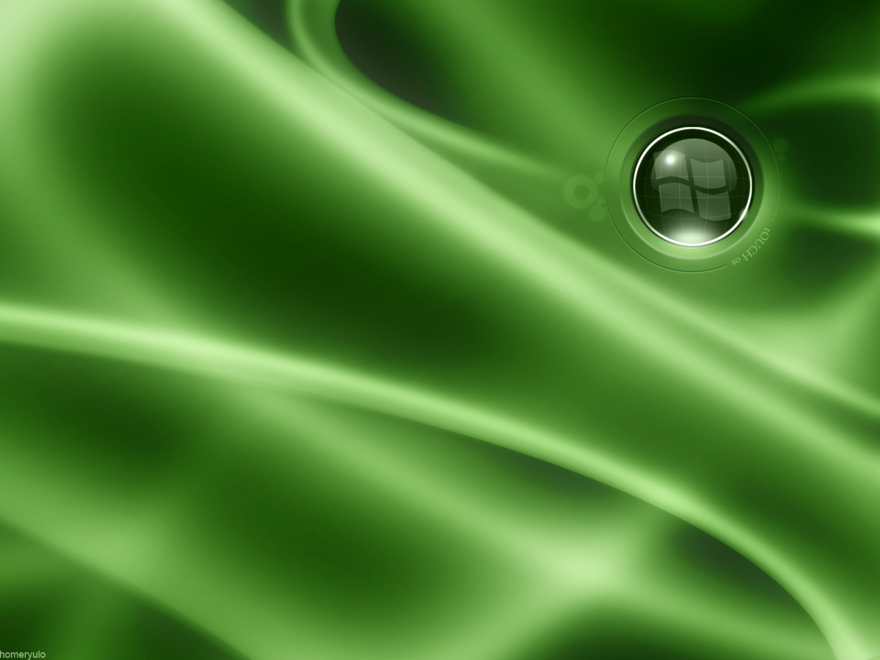 1280x1024 Green Desktop