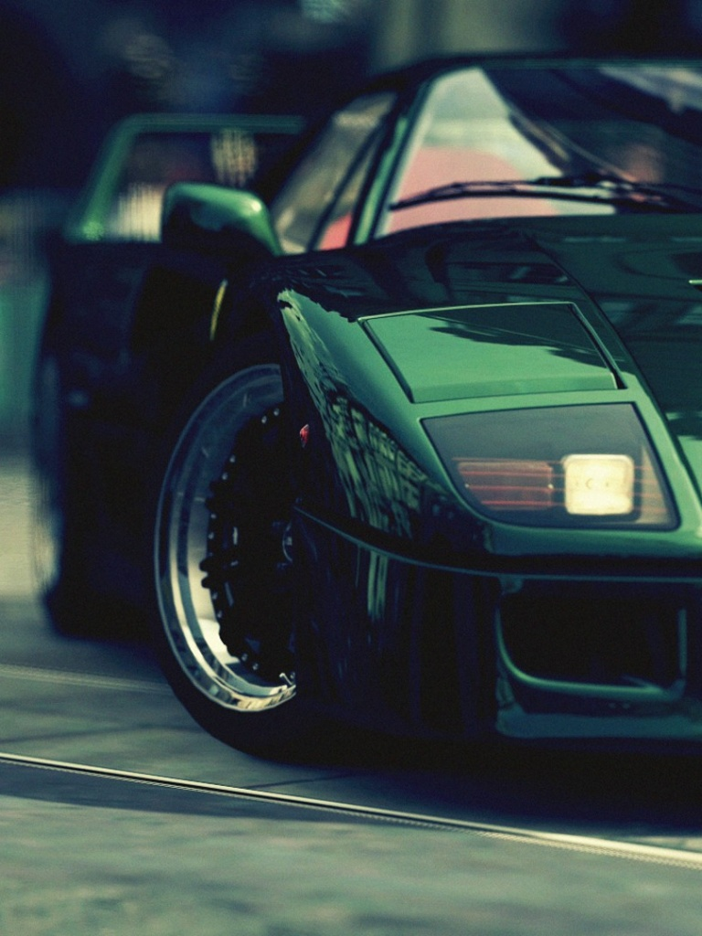 wallpaper green ferrari cars - photo #31