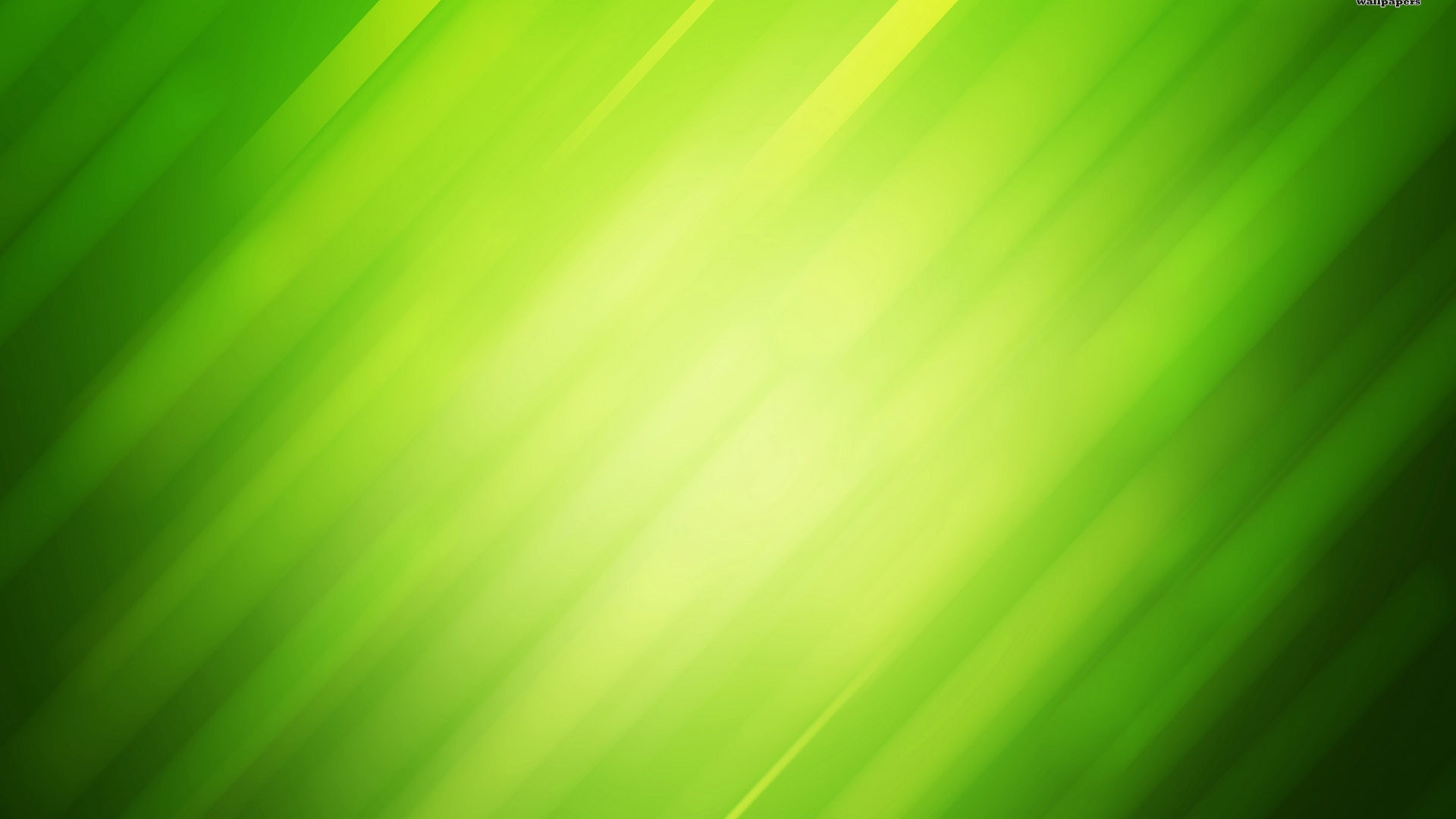 1920x1080 Green rays, abstract