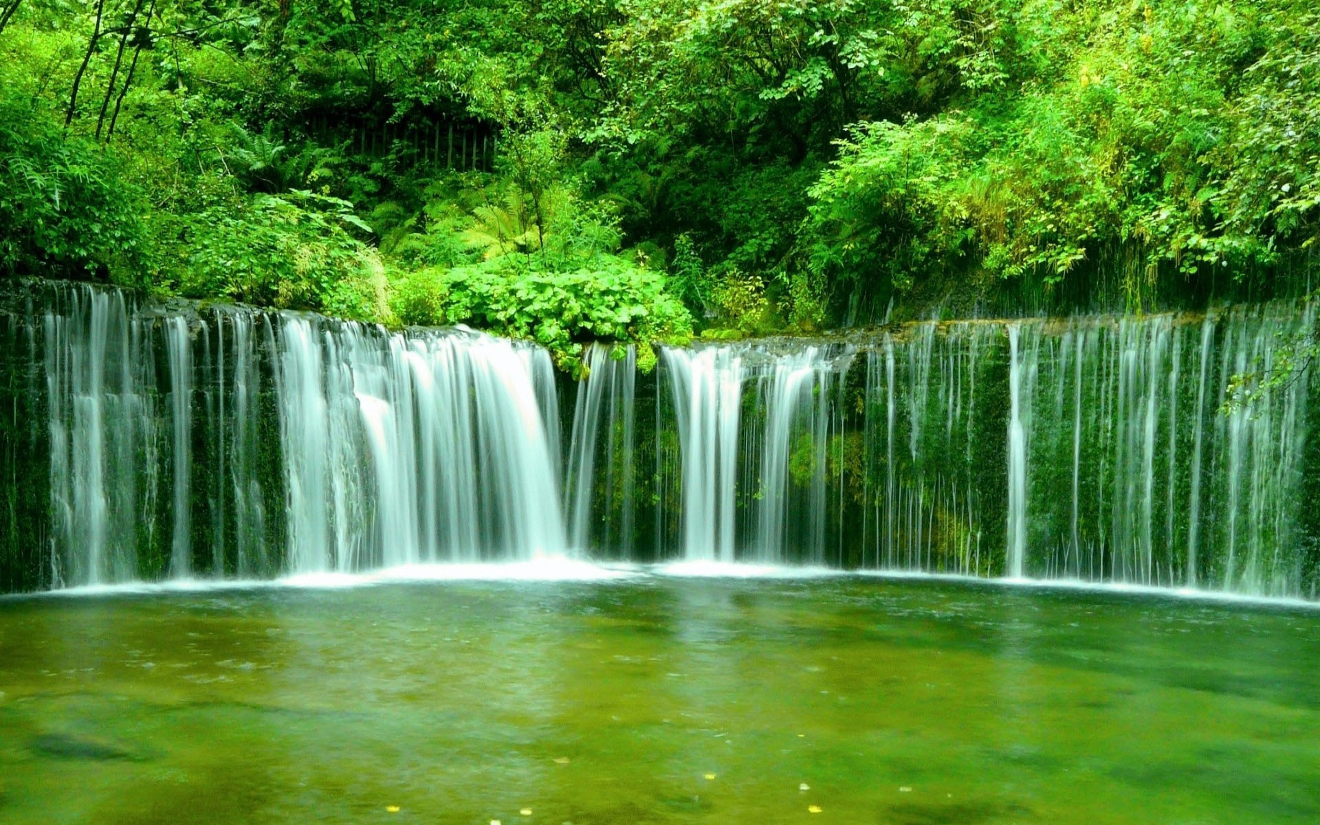 Image Green Waterfall Wallpapers And Stock Photos