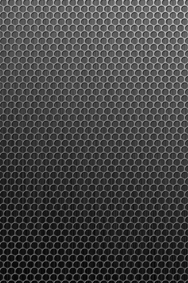 640x960 Grey Honeycomb Pattern Iphone 4 Wallpaper