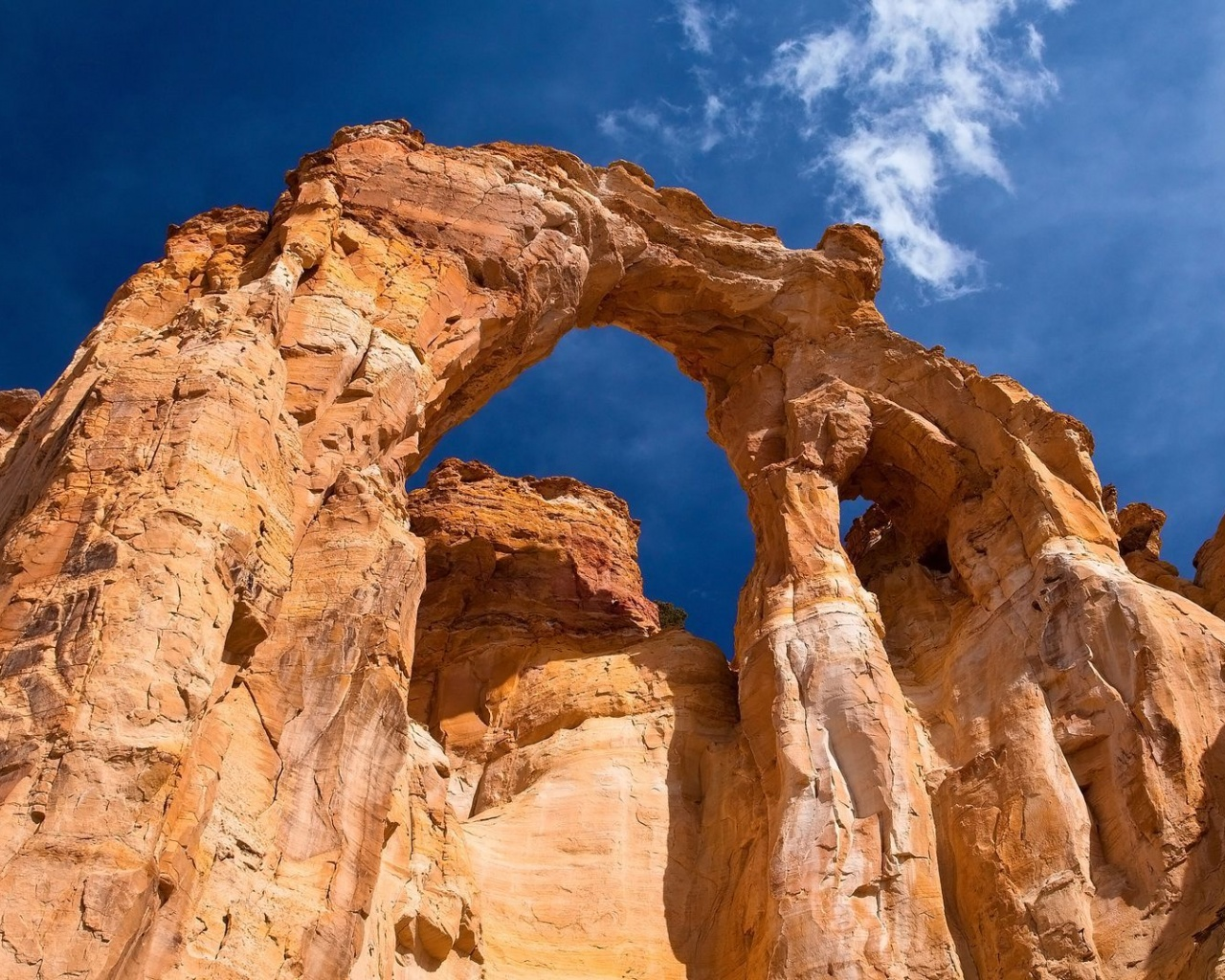 1280x1024 Grosvenor Arch, Utah, grand staircase-escalante, national monument, usa, nature