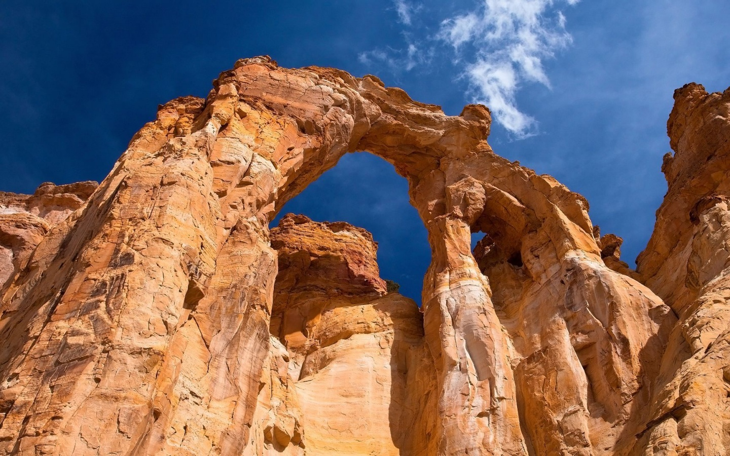 1440x900 Grosvenor Arch, Utah, grand staircase-escalante, national monument, usa, nature