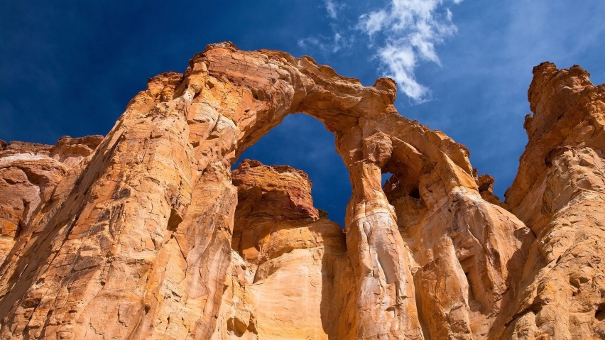 852x480 Grosvenor Arch, Utah, grand staircase-escalante, national monument, usa, nature